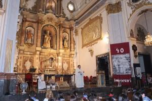 Eucaristia 40 anys evangeli